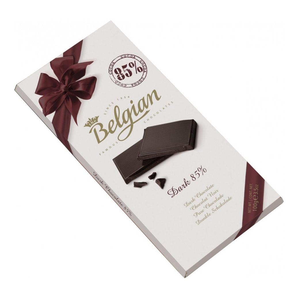 шоколад the belgian горький 72% 100 г Шоколад The Belgian Bitter Chocolate 85% 100 г