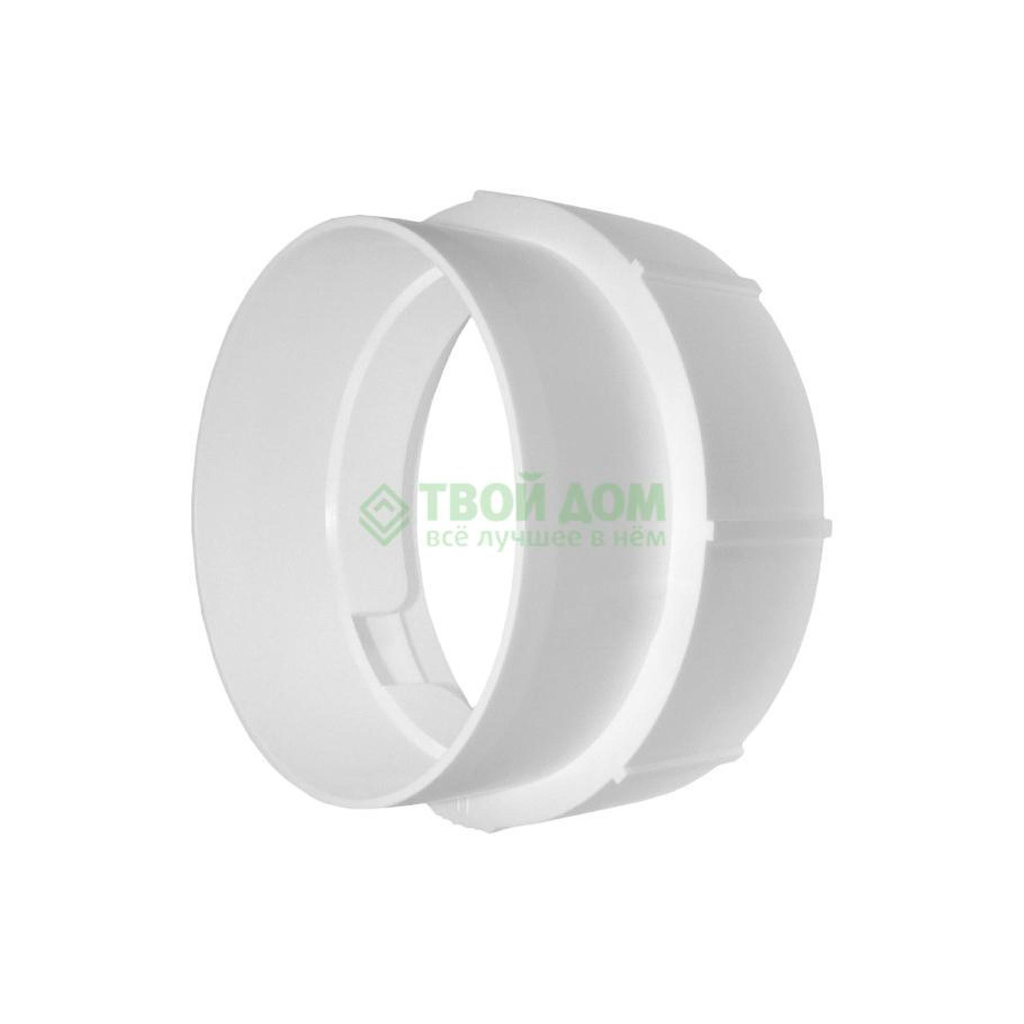 Купить Соединитель Вентс 1215 D=100ММ, соединитель, Украина, пластик