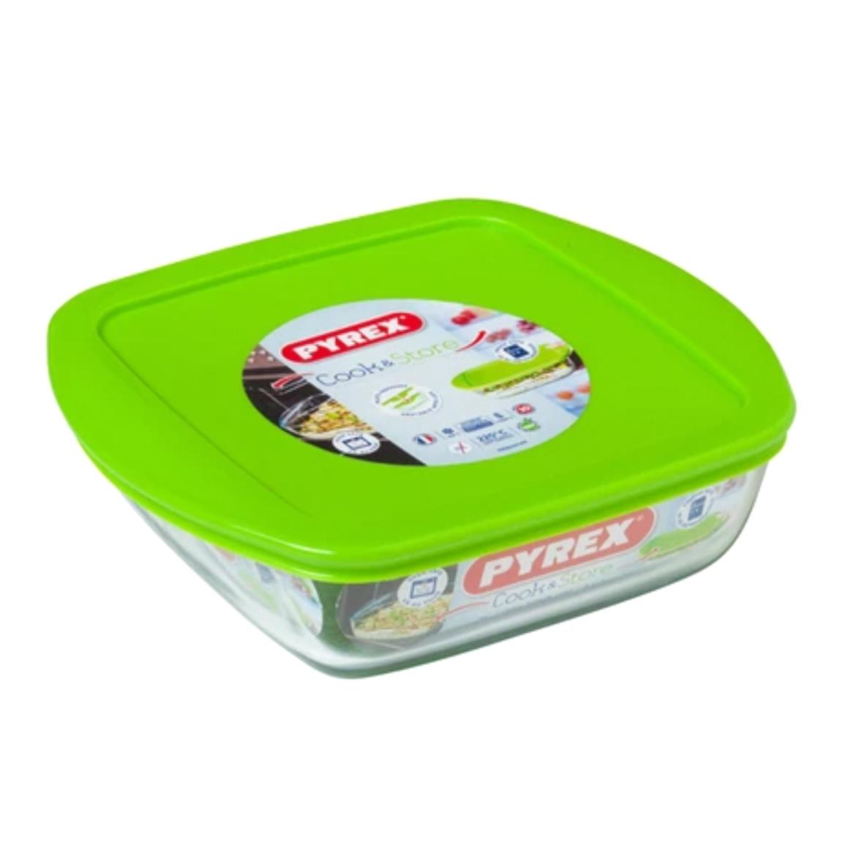 форма для запекания pyrex smart cooking 26см 828b000 5046 Форма для запекания Pyrex Cook&Store Glass Квадратная 0,3 л (210P000/5046)