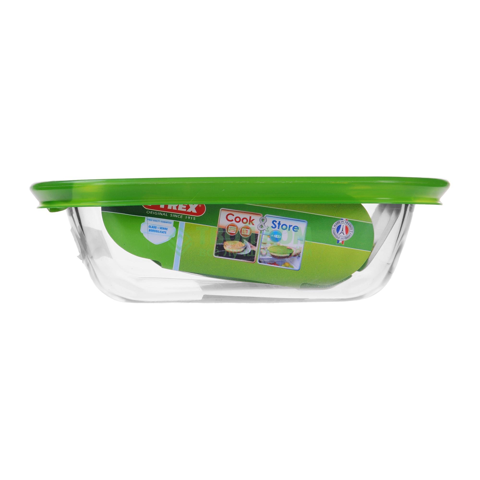 Купить со скидкой Форма для запекания Pyrex Cook&Store Glass Прямоугольная 0,35 л (214P000/5046)