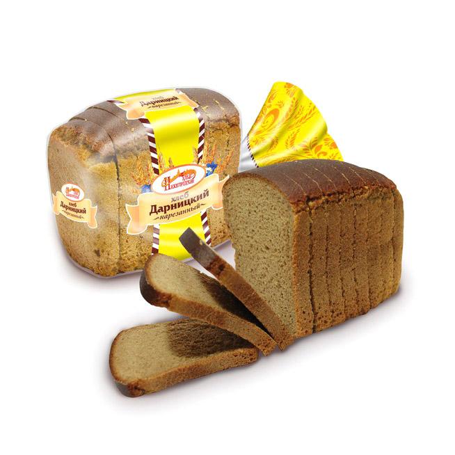 Хлеб Дарницкий в нарезке Нижегородский хлеб 325