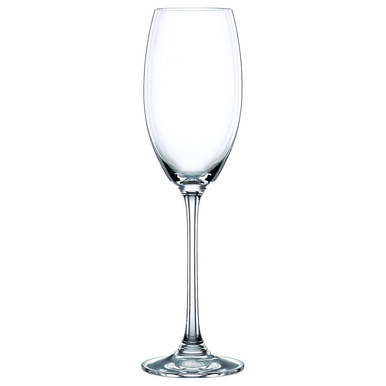 Набор фужеров для шампанского Nachtmann Vivendi 85695, 4 штуки 272 мл набор фужеров для шампанского vivino хрустальное стекло 4 шт 95864 nachtmann