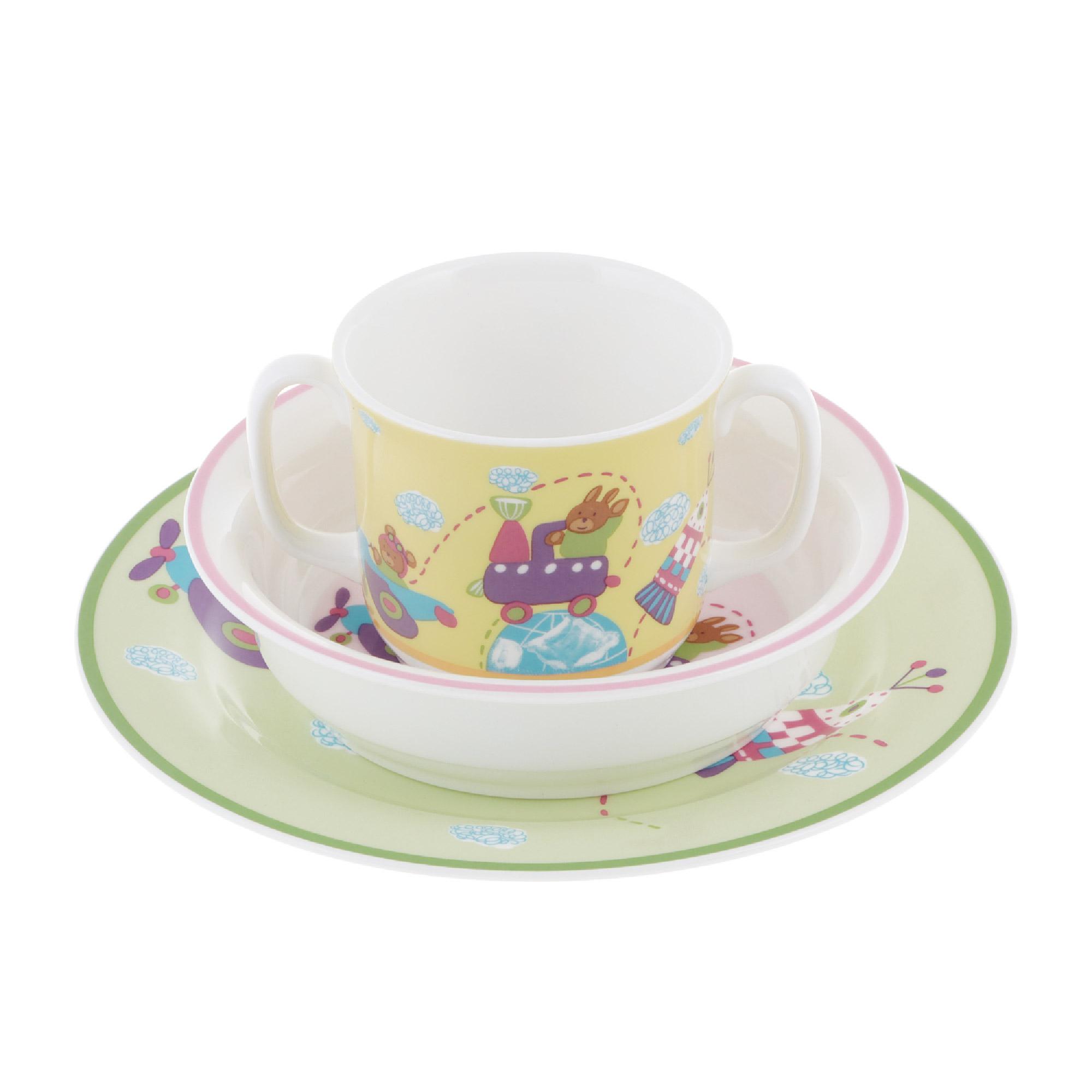 Набор посуды Hankook Клауд Трип 3 предмета