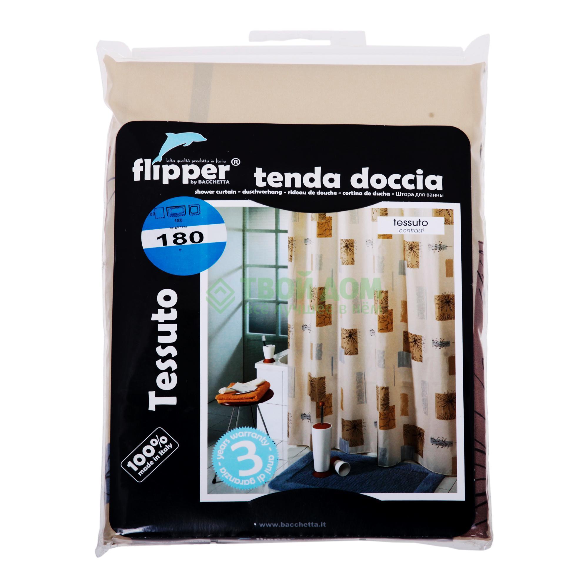 Штора для ванной комнаты Bacchetta Florence 180X200 см (40203323000)