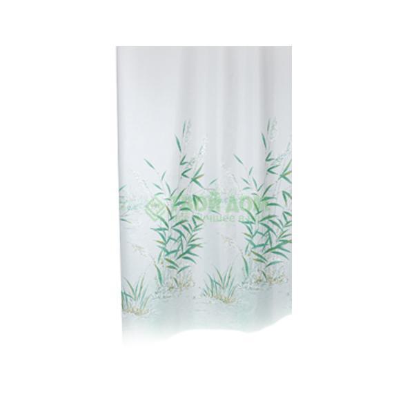 Штора для ванной комнаты Bacchetta Canneto verde (40205220100/205220100)