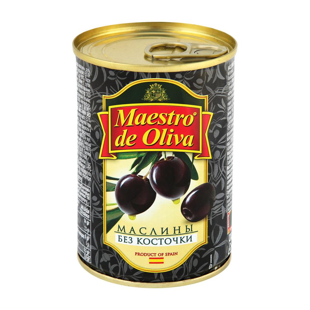 Маслины Maestro de Oliva без косточки 280 г oliva косметика