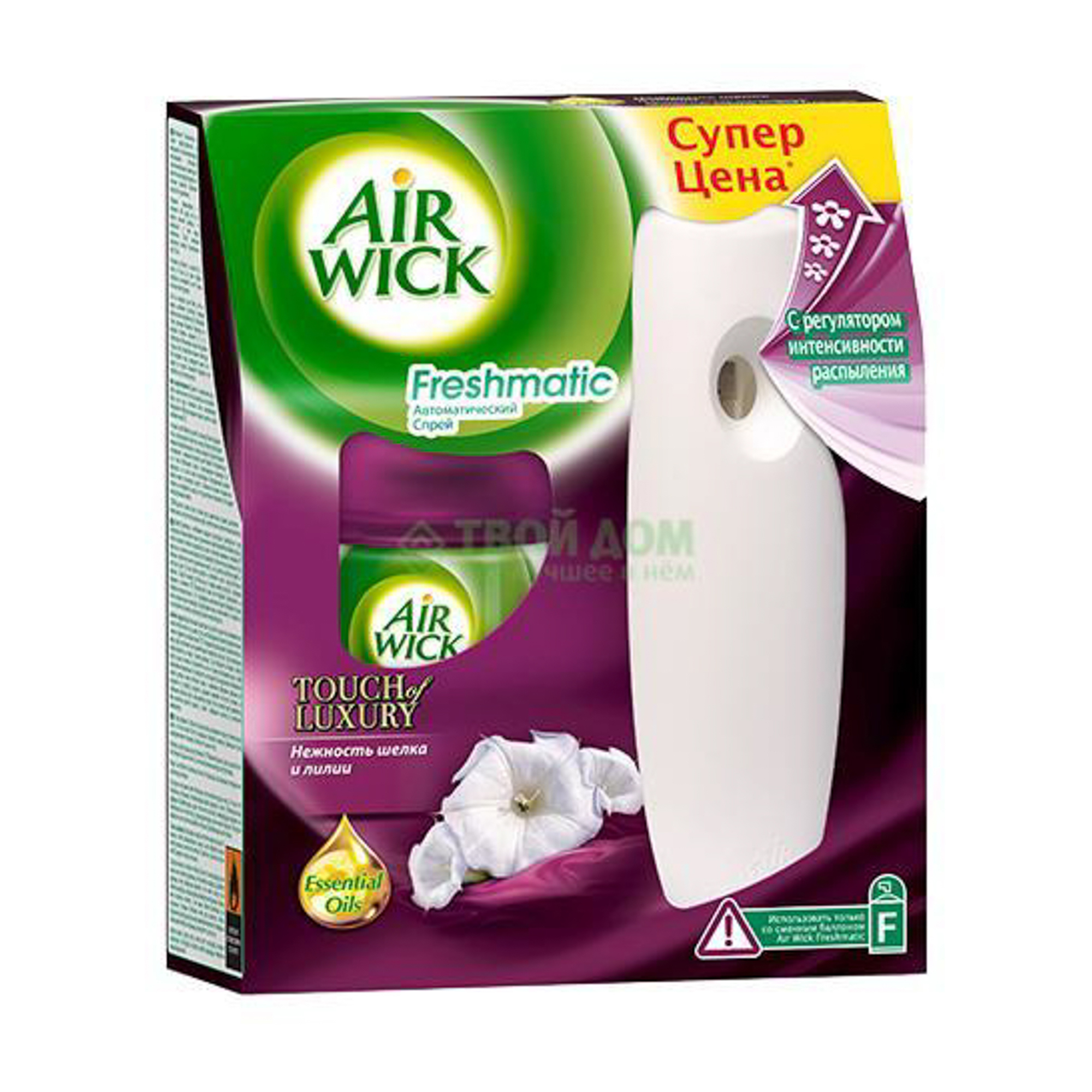 Освежитель воздуха Air Wick Нежность шелка и лилии 250 мл недорого