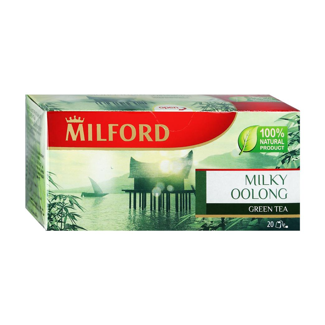 Чай зеленый Milford Молочный Оолонг 20 пакетиков чай зеленый milford wellness в пакетиках 20 шт