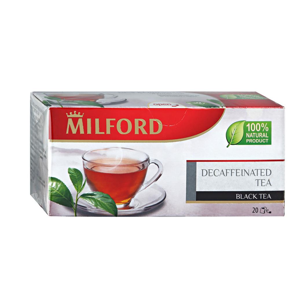 Чай черный Milford без Кофеина 20 пакетиков