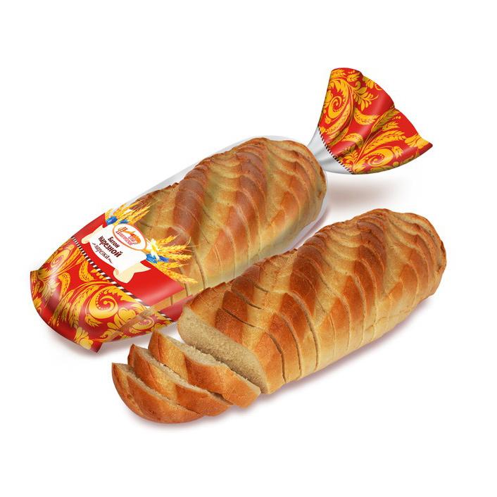Батон нарезной Нижегородский Хлеб нарезка 400