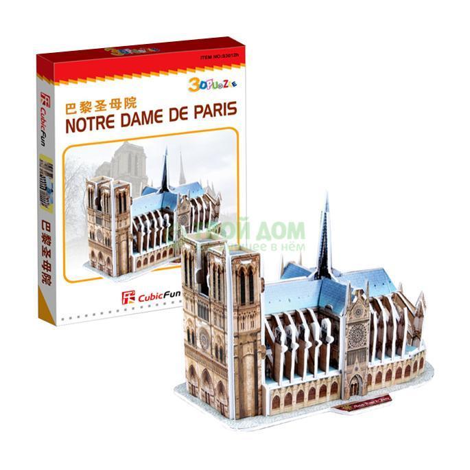 3D-пазл Cubic Fun Нотрдам де Пари (Франция) S3012