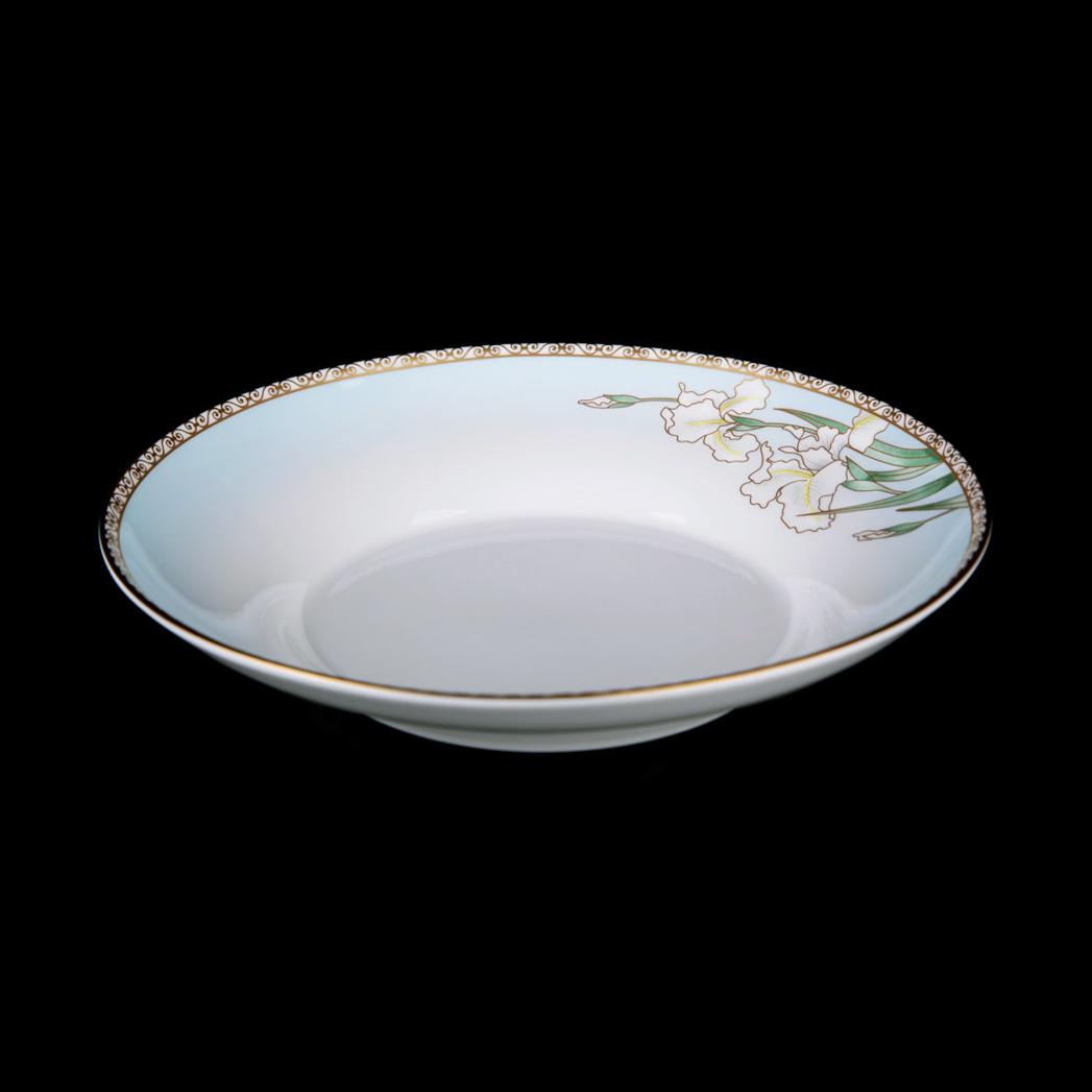 Фото - Набор суповых тарелок Hankook/Prouna Ирис 21,5 см 6 шт набор суповых тарелок hankook prouna эпл би 23 см 6 шт