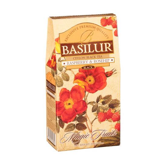 Чай Basilur Волшебные фрукты Малина и шиповник 100 г