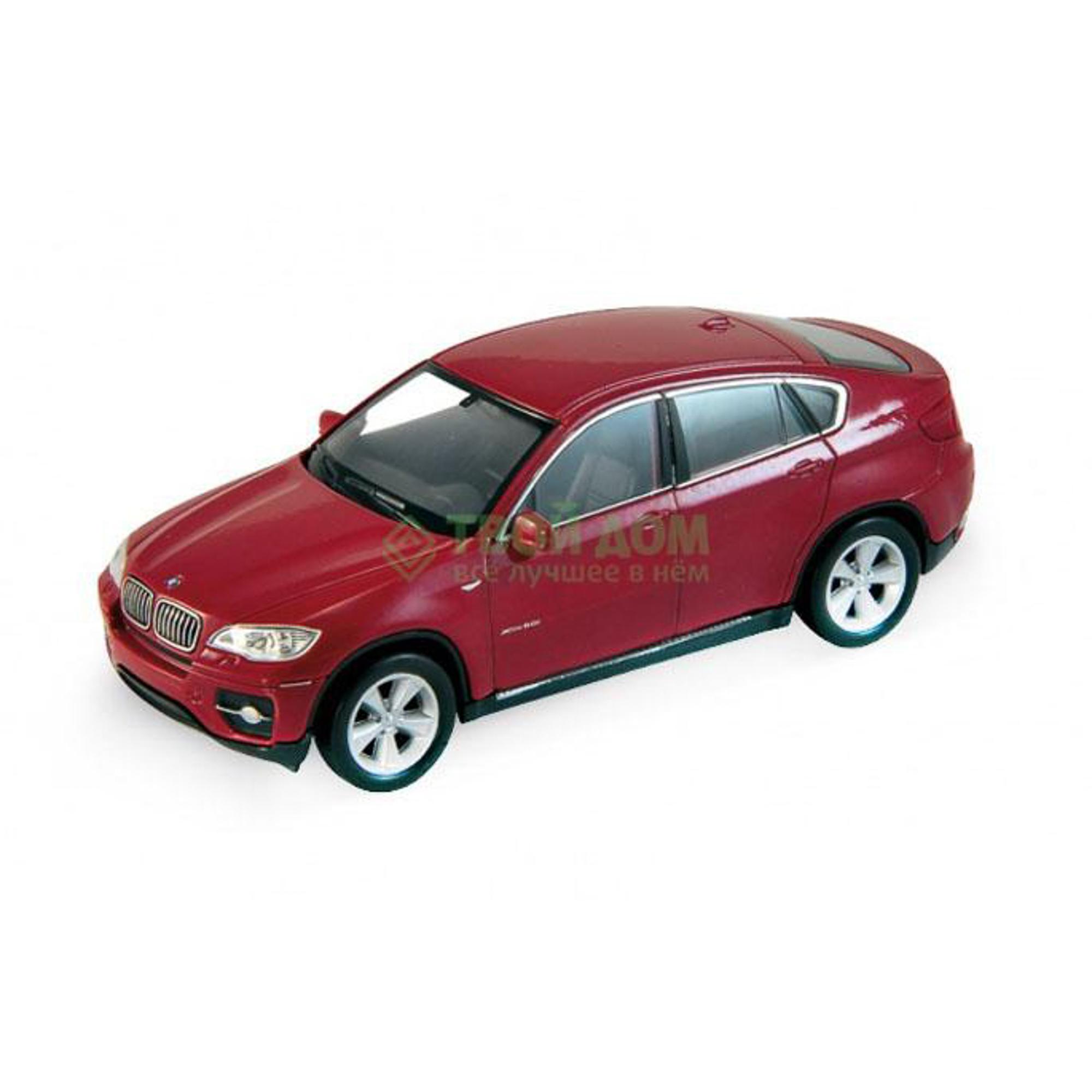Машинка Welly BMW X6 1:34-1:39 (43617).