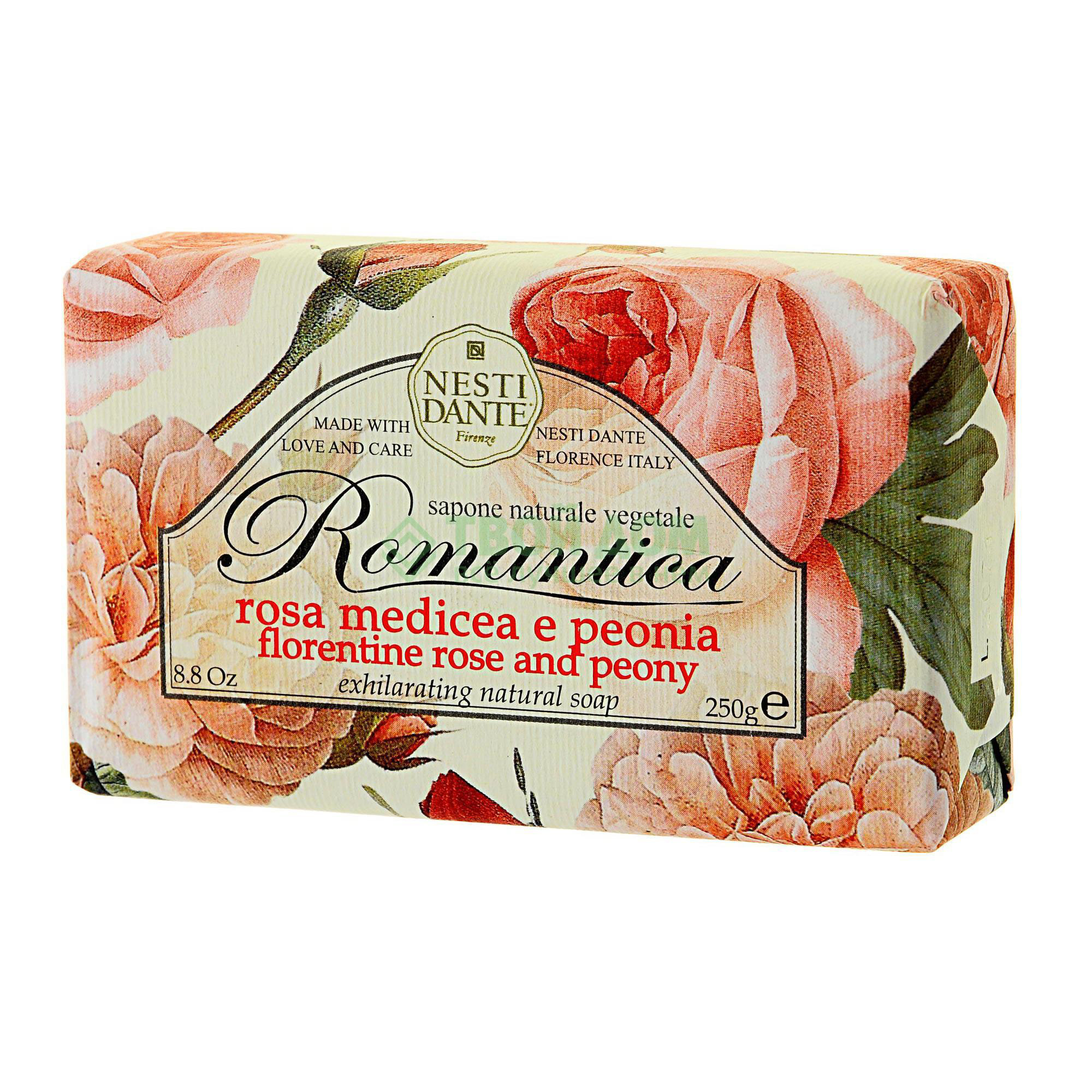 Мыло Nesti Dante роза и пион 250г мыло юбилейное золотое 250г nesti dante