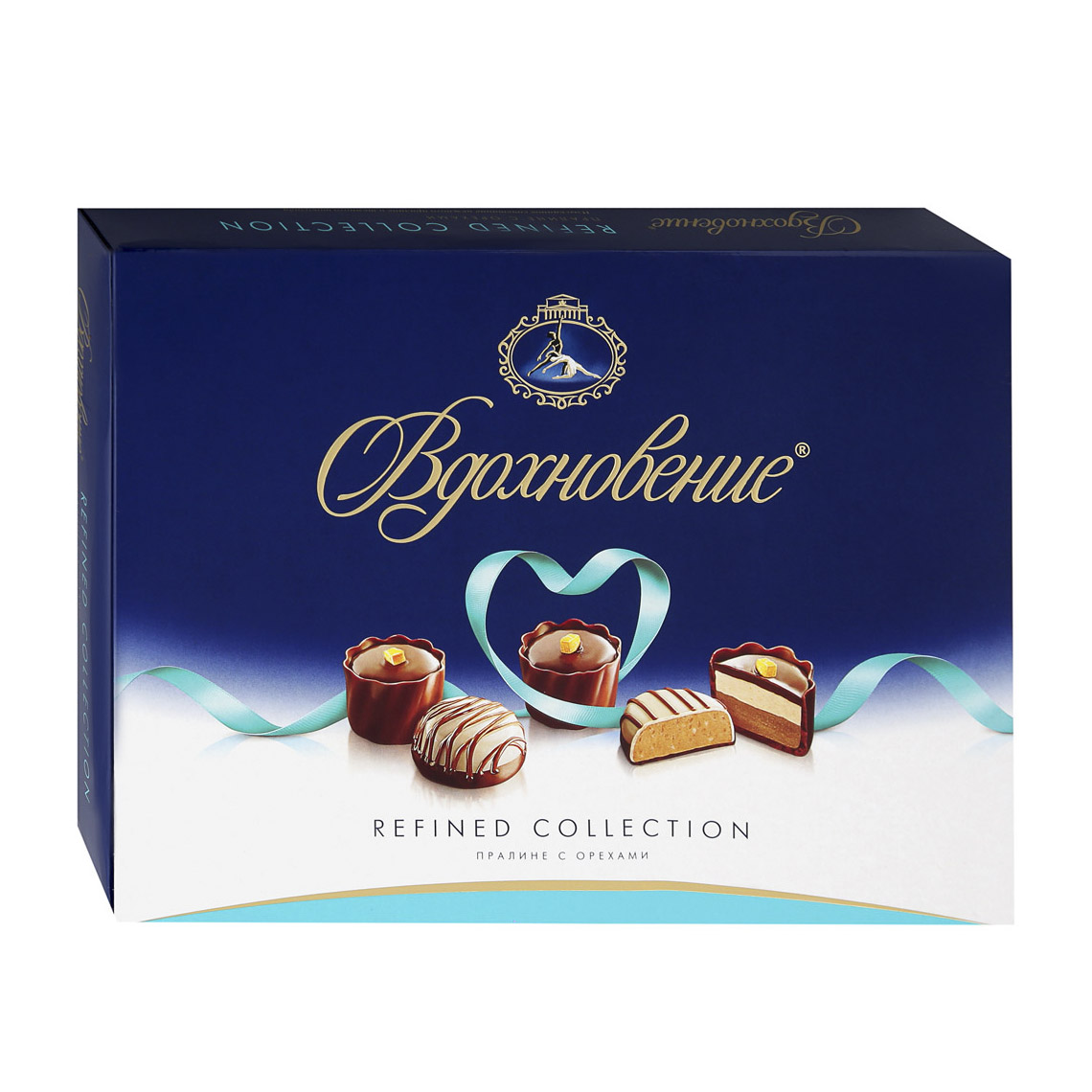 Фото - Шоколадный набор Вдохновение Пралине с орехами 170 г шоколадный баточник nuts с орехами 50 г