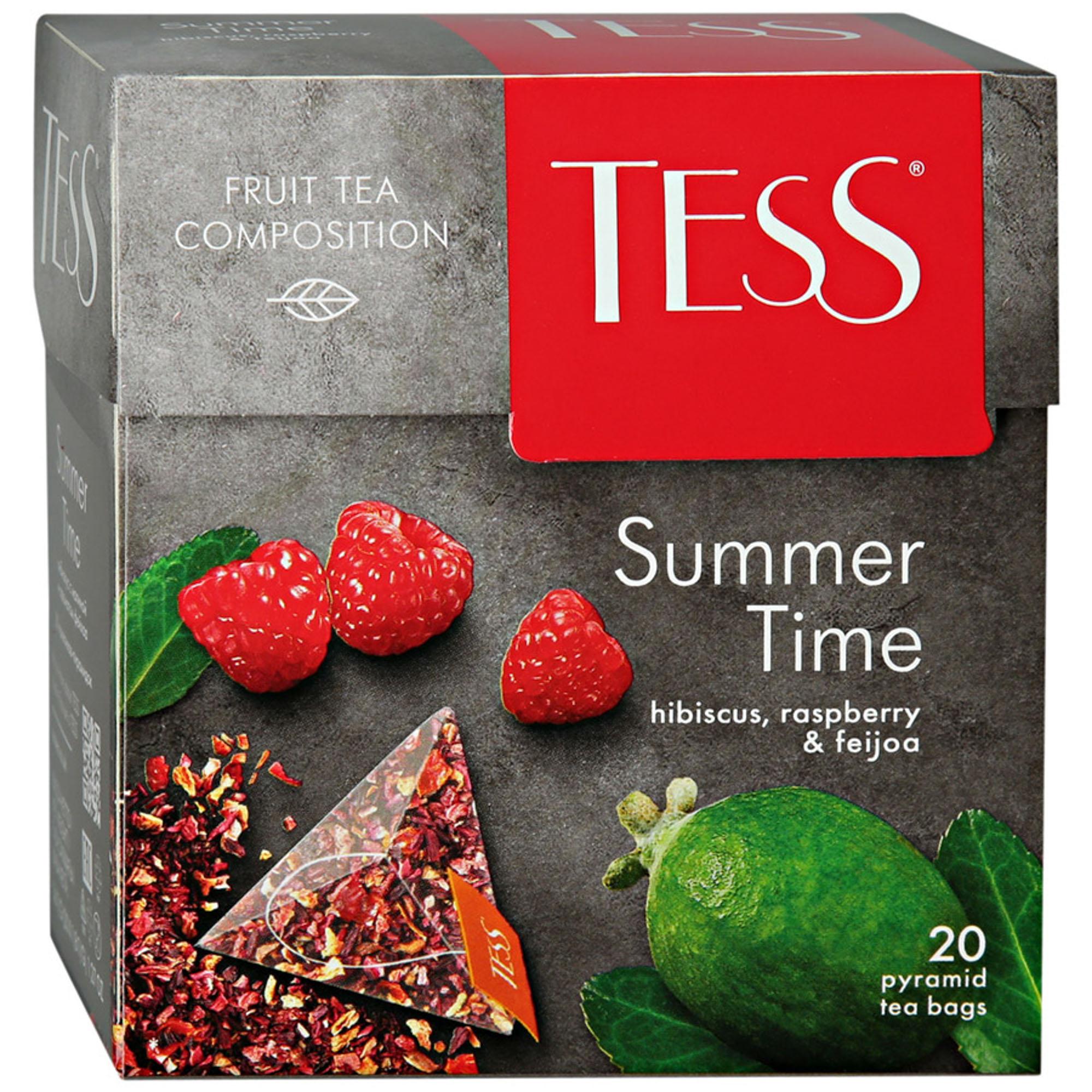 Чайный напиток Tess Summer Time 20 пакетиков