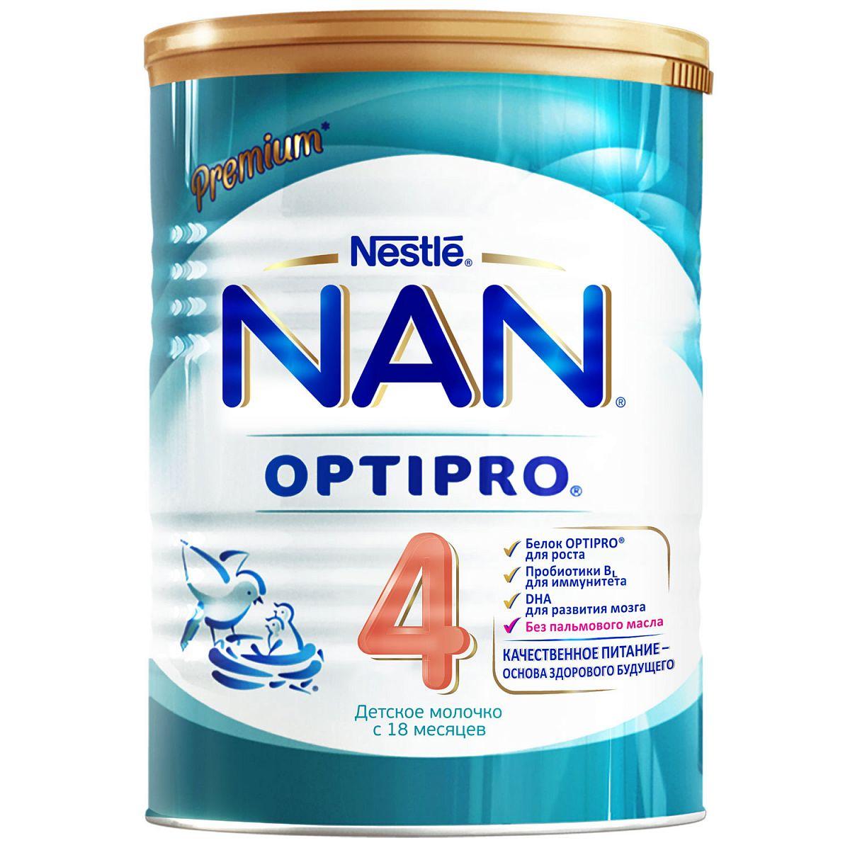 Фото - Детское молочко NAN 4 Optipro c 18 месяцев 400 г nan levinson outspoken