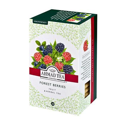 Чай Ahmad Tea Forest berries 20 пакетиков фото