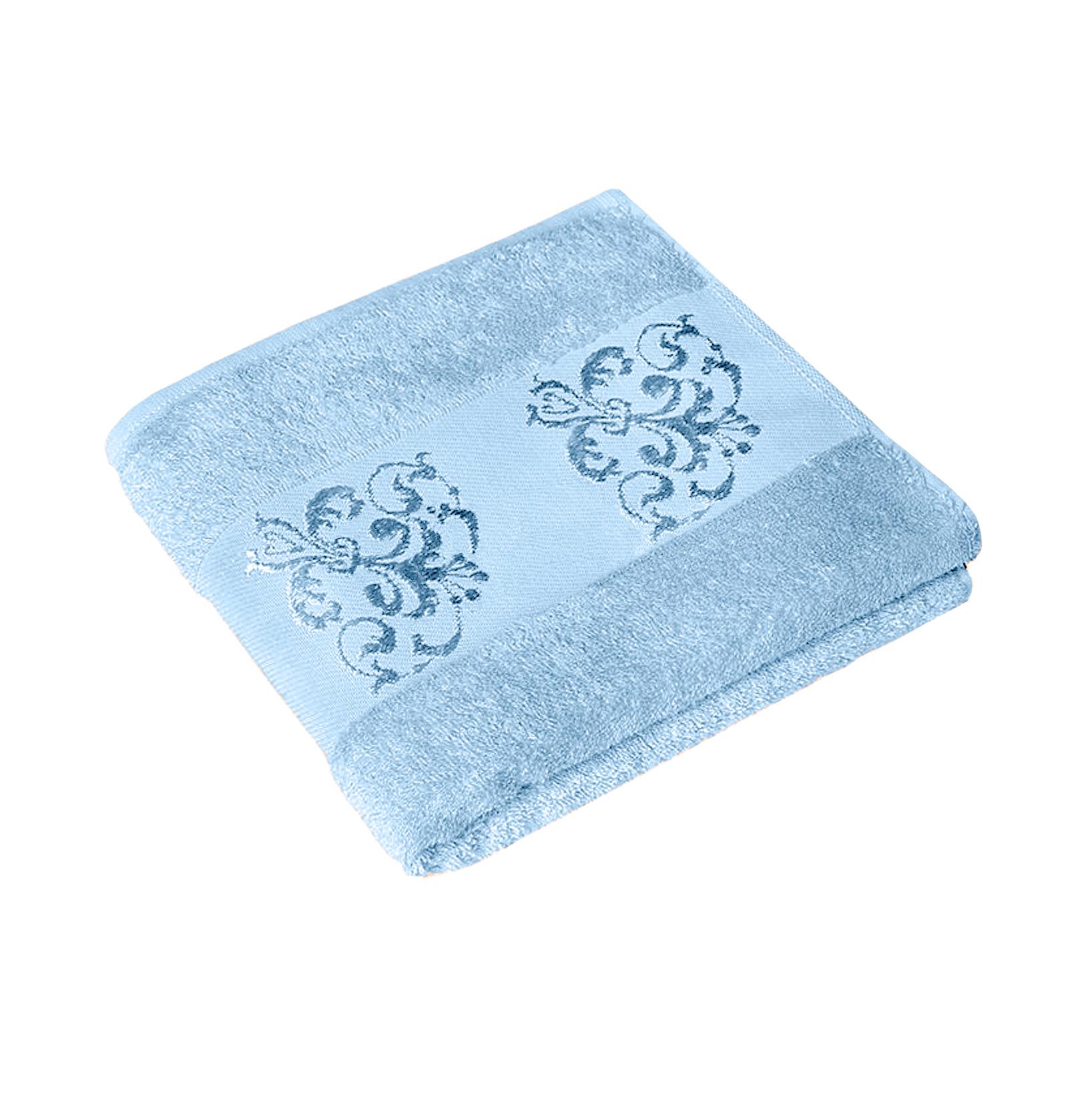 Полотенце MAISONETTE BAMBU 70Х140 blue