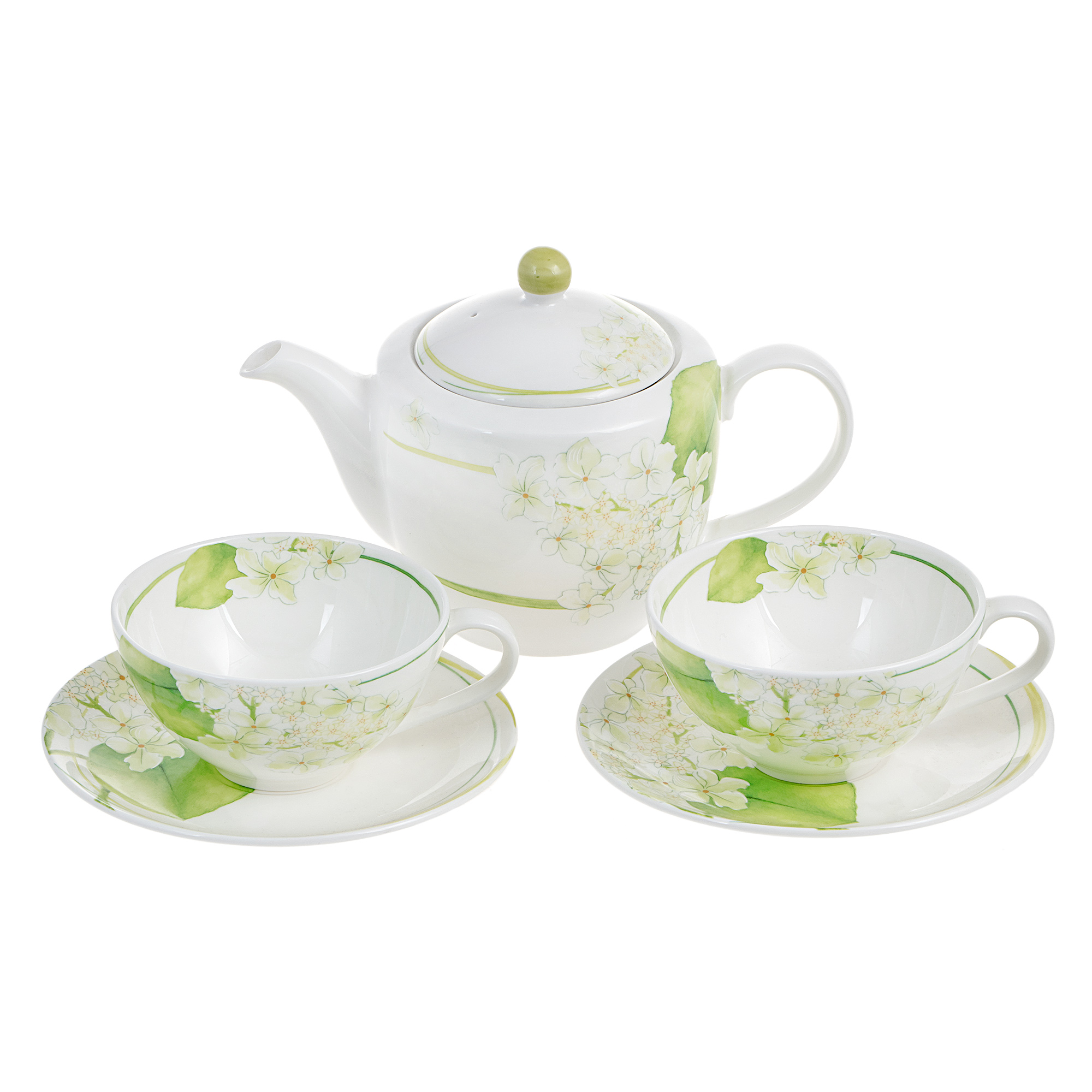 Набор чайный Hankook Гераниум 5 предметов фото