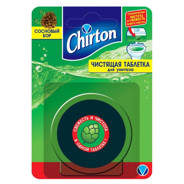 Фото - Таблетка чистящая для унитаза Chirton Сосновый бор 50 г чистящий кубик для унитаза chirton альпийская долина 3x50 г