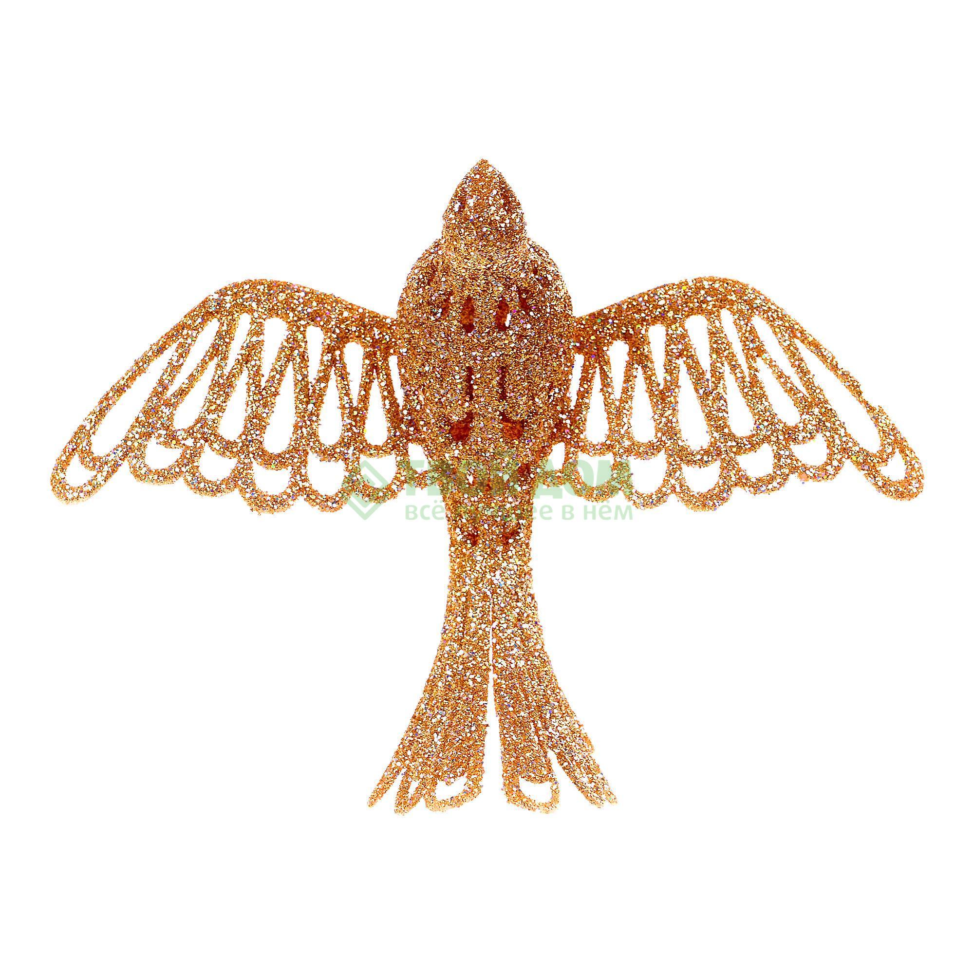 Фигурка Weiste Птица 160мм серебро/золото (94820)