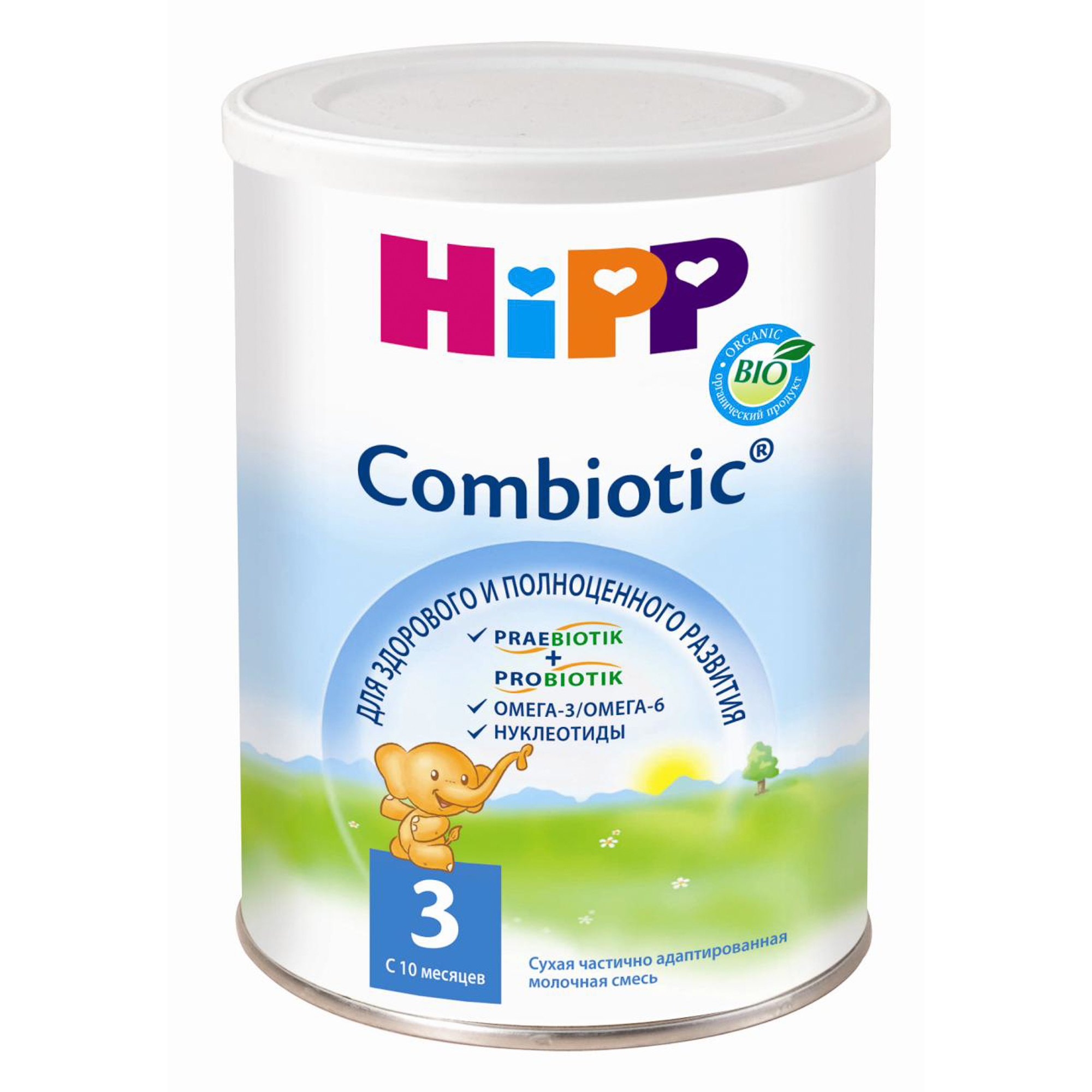 Смесь молочная Hipp 3 Сombiotic с 10 месяцев 350 г
