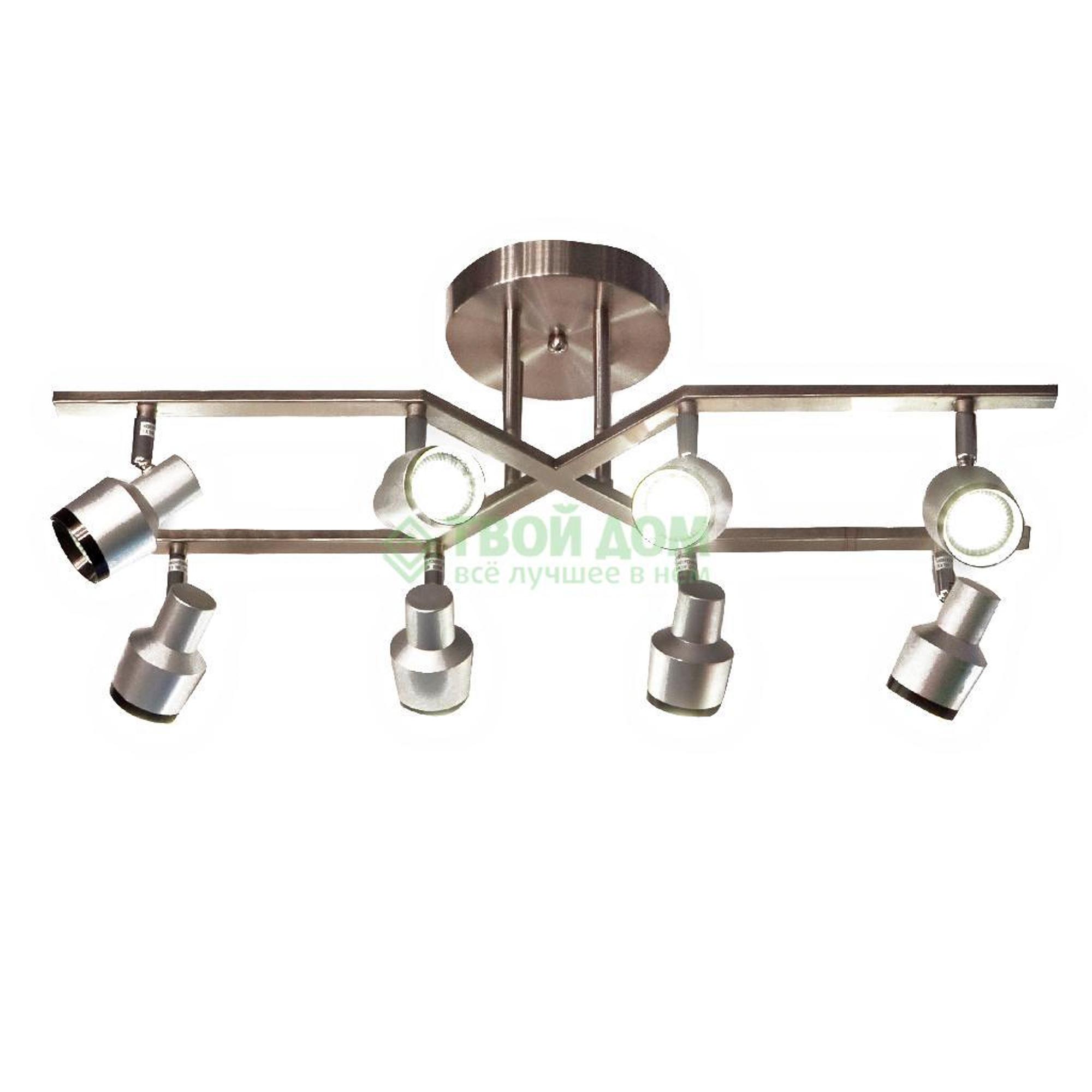 Люстра потолочная Guoguan Lighting потолочная серебр./бронз. MG91082-8