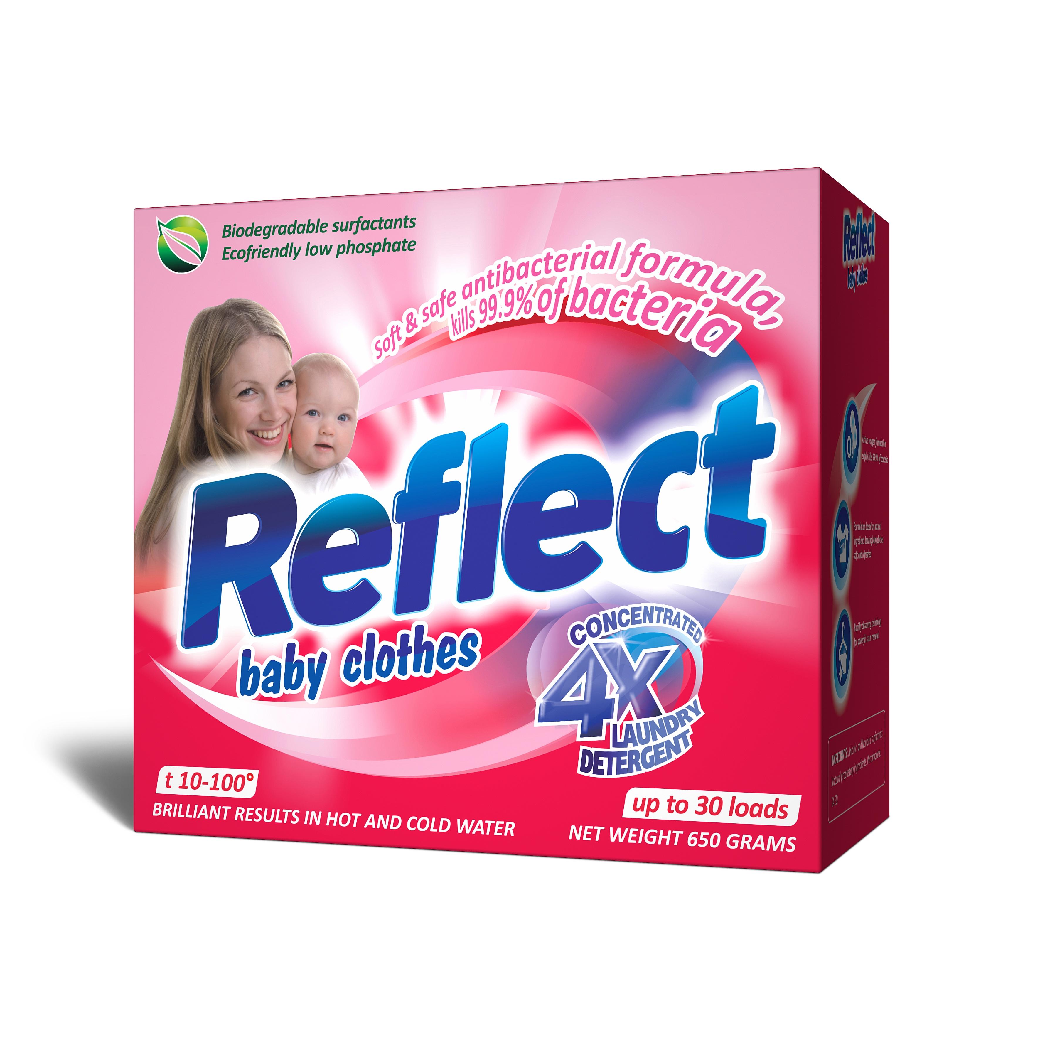 Концентрированный стиральный порошок Reflect Baby Clothes 650 г