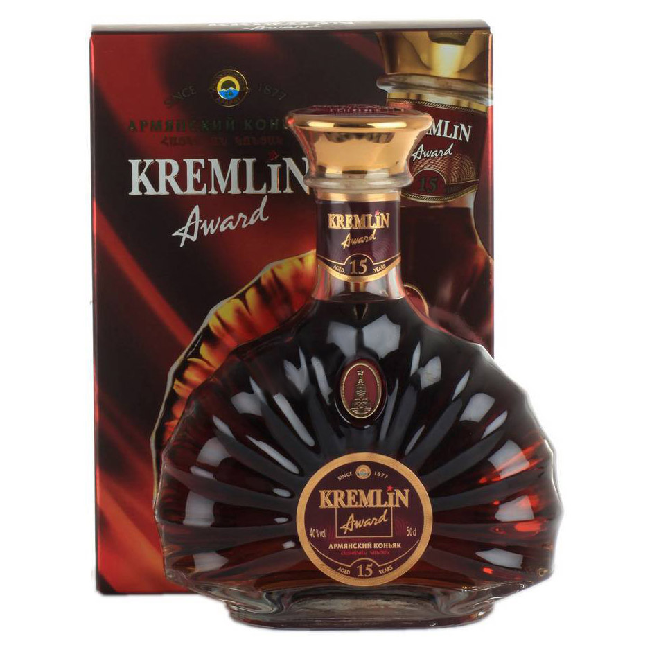 Коньяк Kremlin Award 15 лет 500 мл