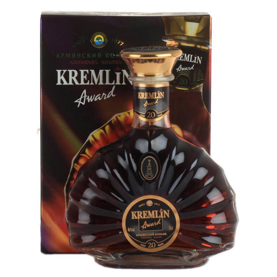 Коньяк Kremlin Award 20 лет 500 мл
