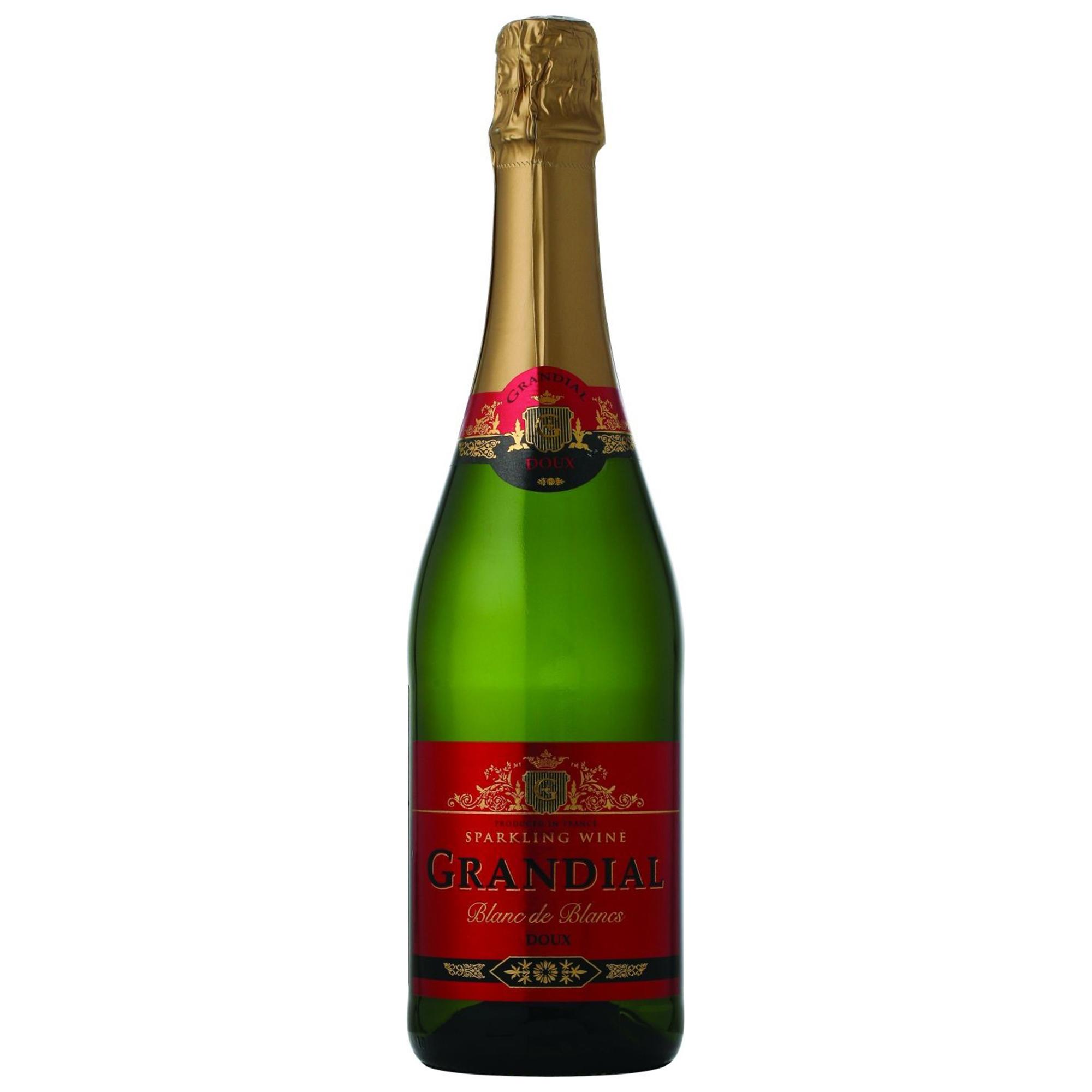 Игристое вино Grandial Semi-Sweet 0,75 л