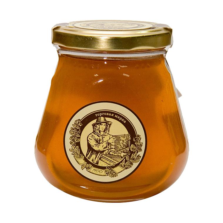 Мёд липовый капля Башкирские Пасеки 350 г