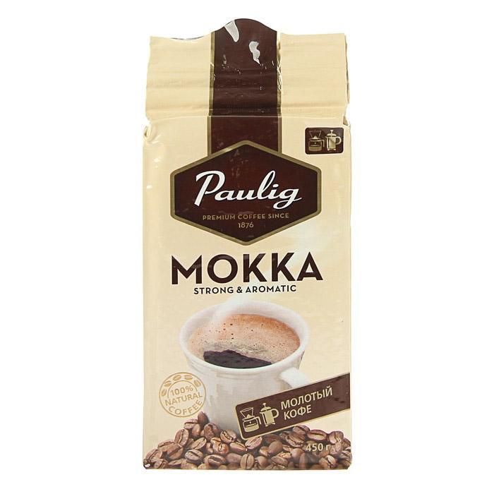 Кофе молотый Paulig Mokka 450 г