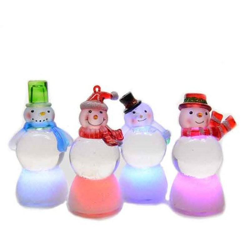 Снеговик декоративный светящийся Kaeming 482484 в ассортименте