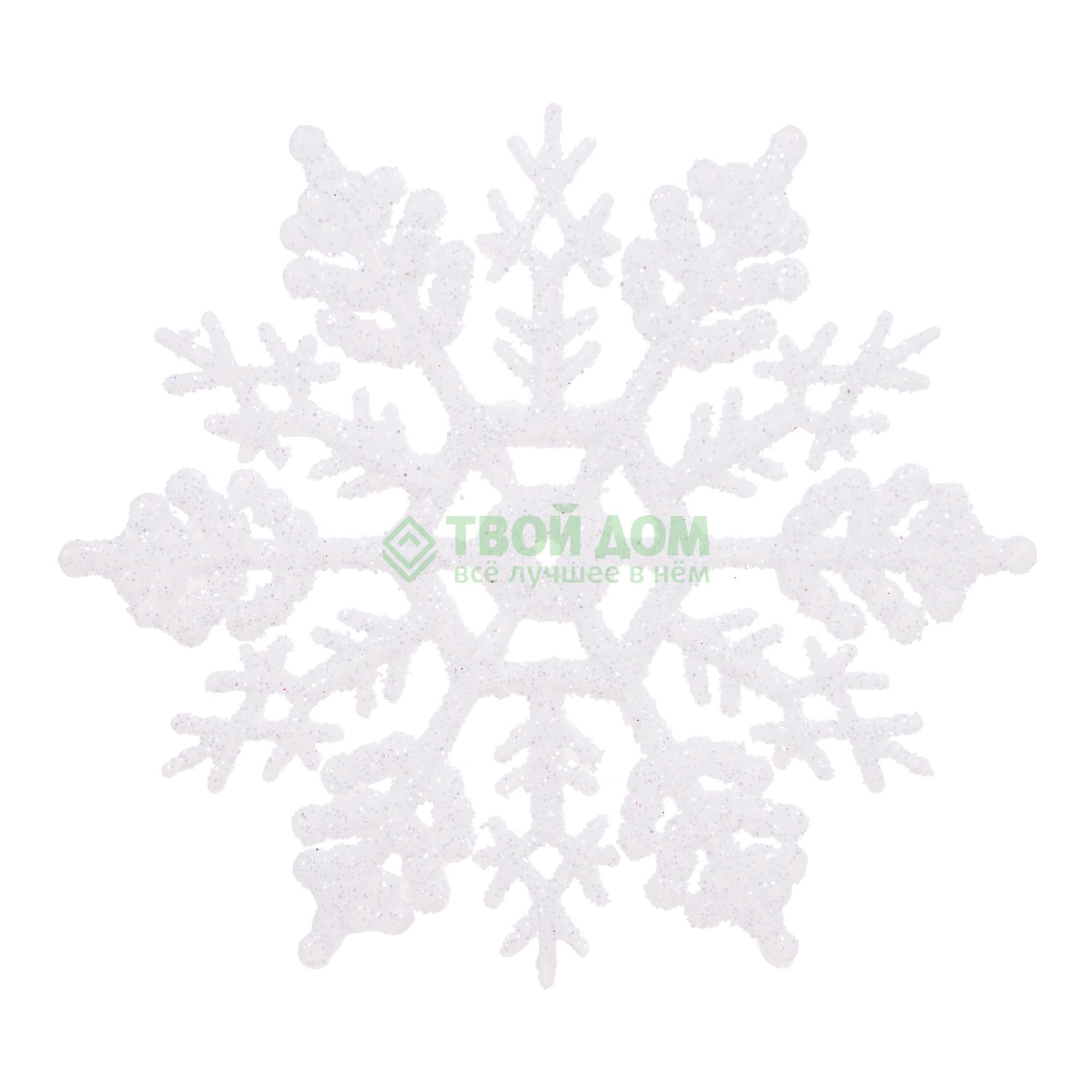 Набор фигурок KaemingK Снежинок на елку 10см (514966)