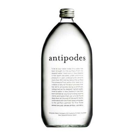 Вода минеральная Antipodes газированная 0,5 л