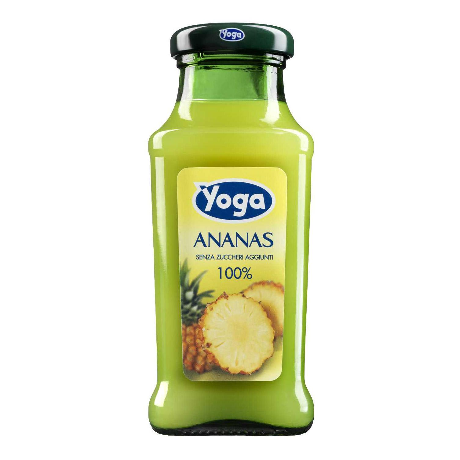 Сок Yoga ананасовый 0,2 л