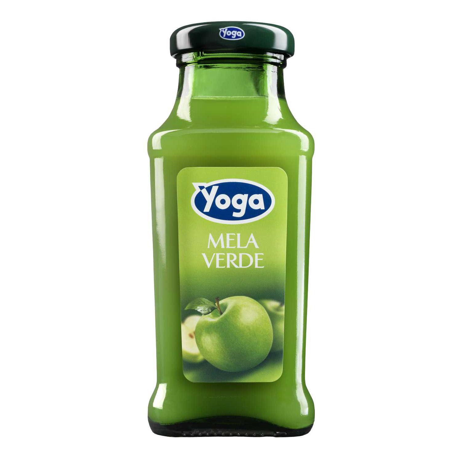 Сок Yoga зеленое яблоко 0,2 л