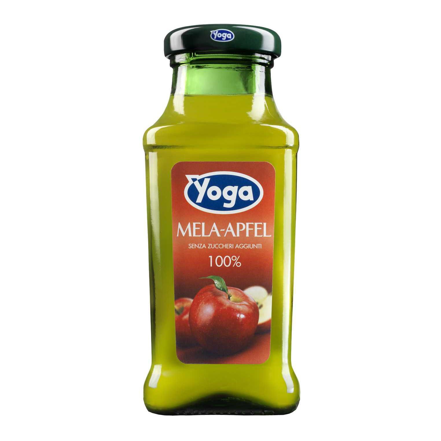 Сок Yoga яблочный 0,2 л