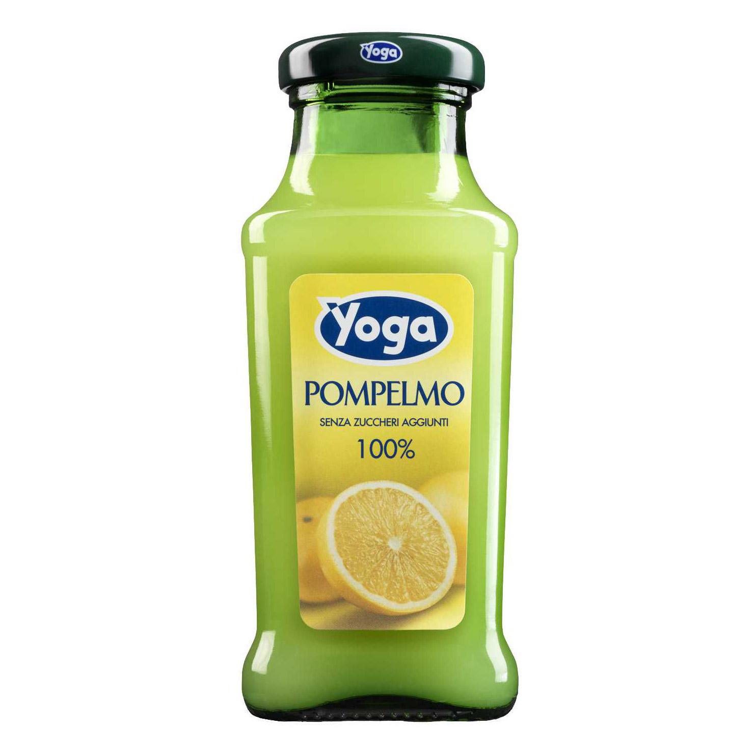 Сок Yoga грейпфрутовый 0,2 л