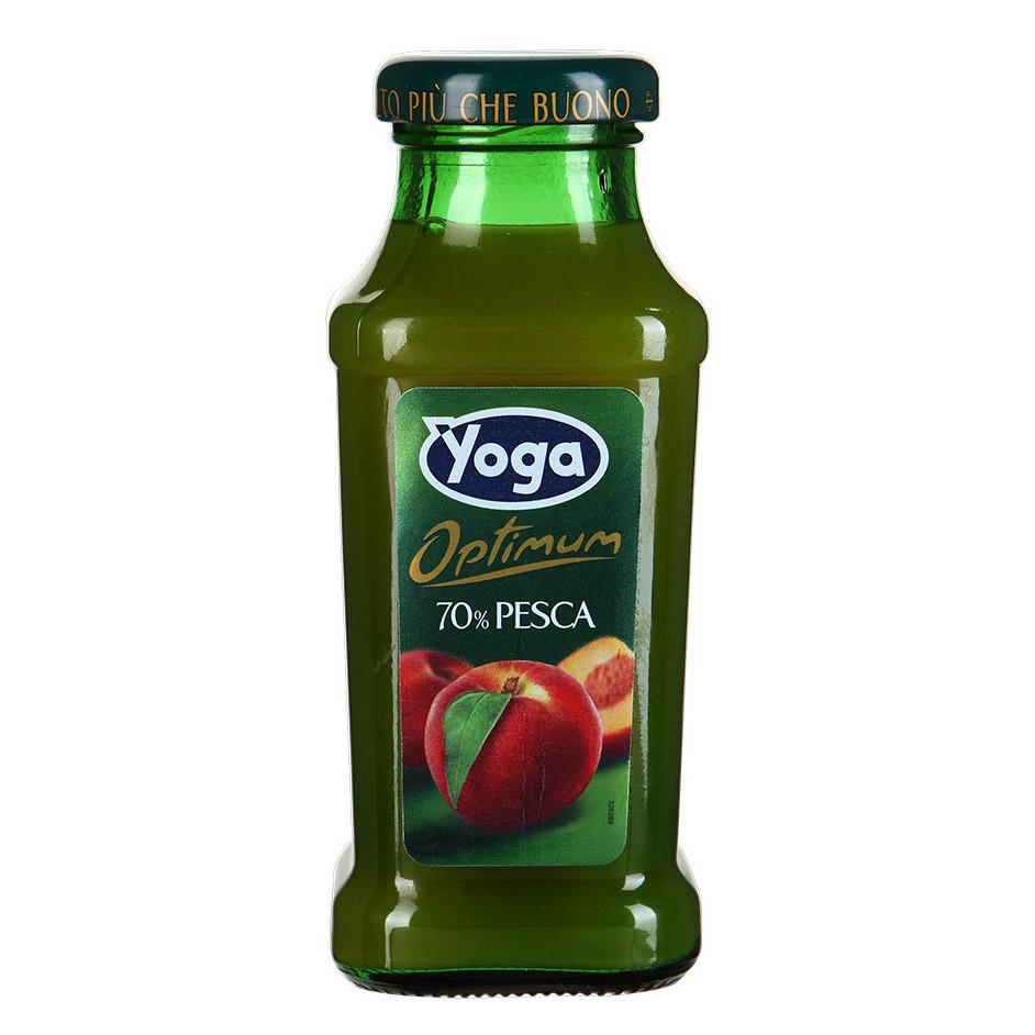 Нектар Yoga Optimum персиковый восстановленный 0,2л