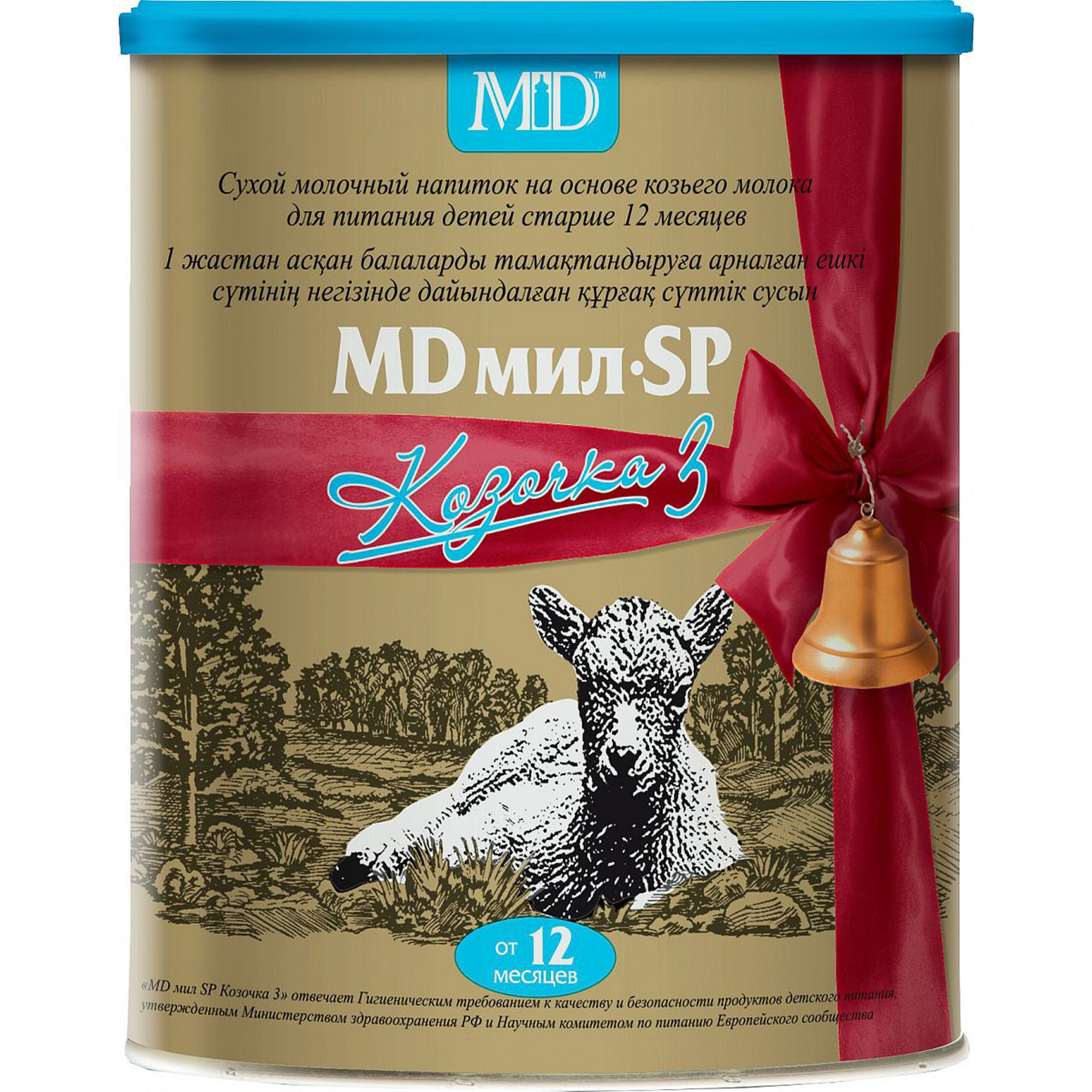 Смесь молочная MD мил SP Козочка 3 с 12 месяцев 400 г