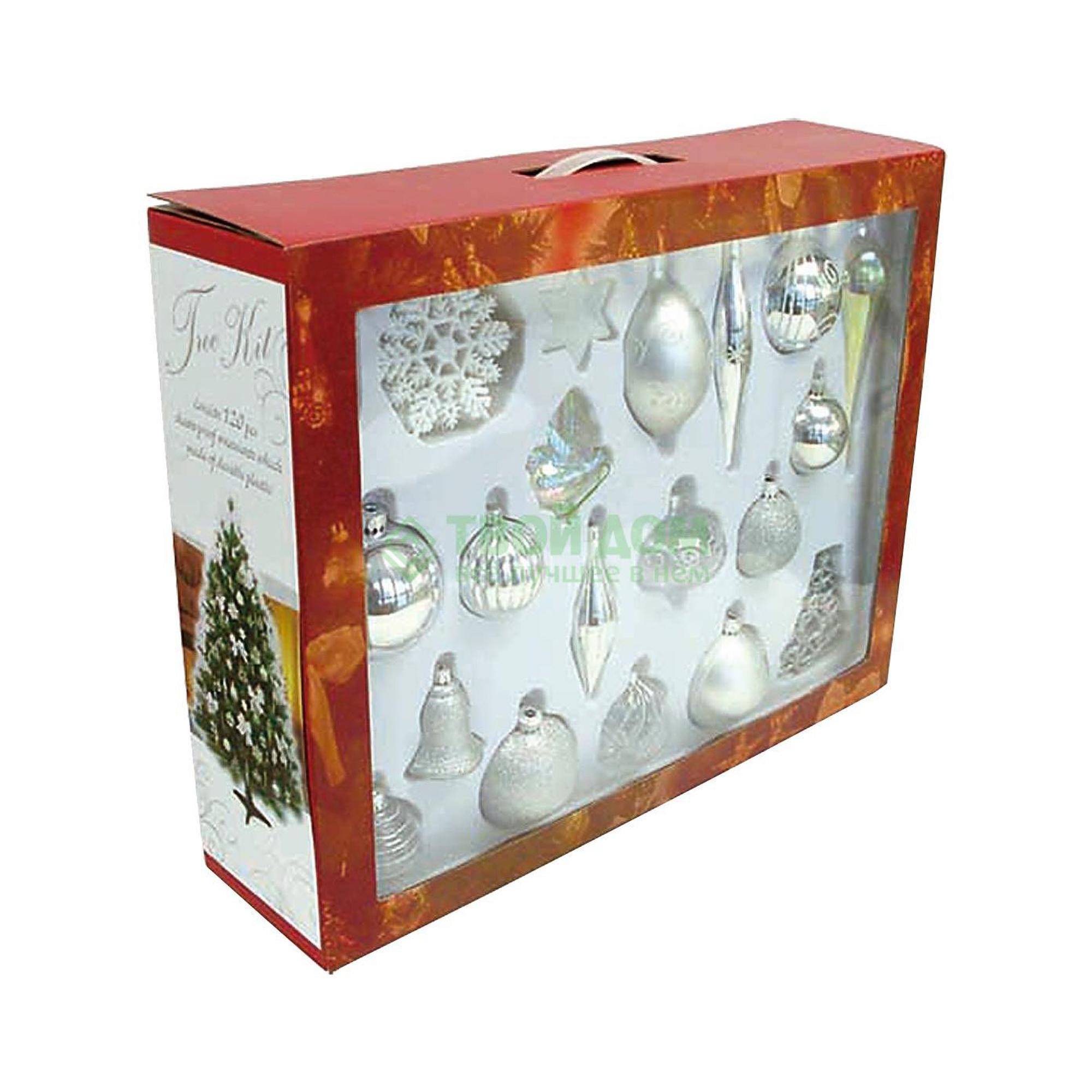 Набор фигурок Mister Christmas Набор для украшения елки 120 шт. BC-TS-S (BC-TS-S)