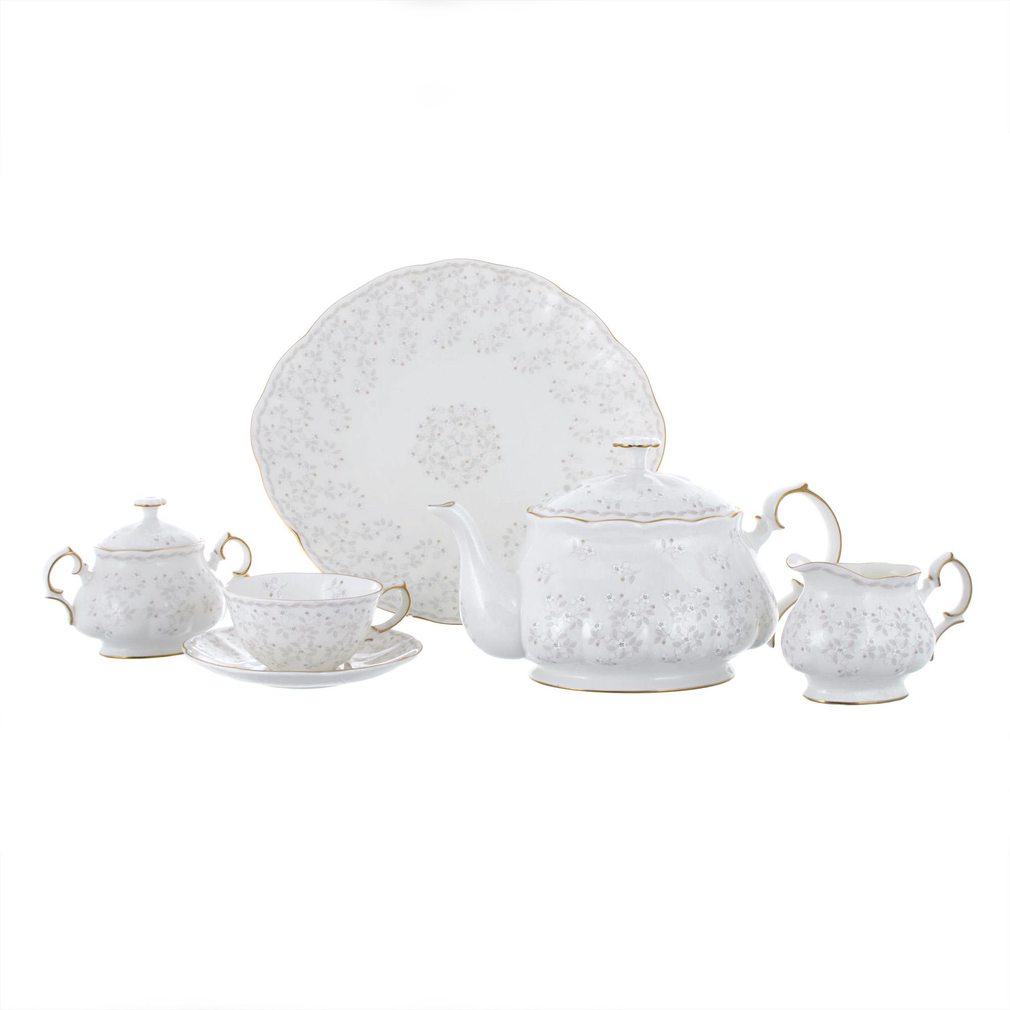 Сервиз чайный Hatori Империал Джулия Беж 18 предметов