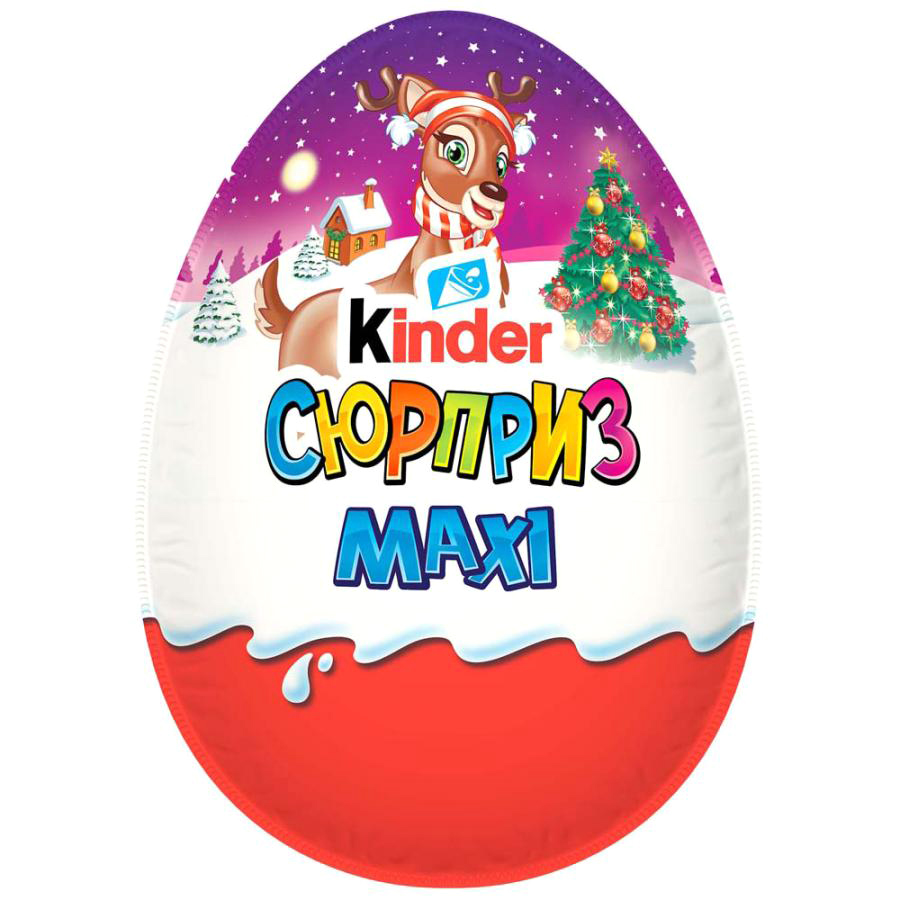киндер конфета kinder chocolate maxi kinder Шоколад Kinder Сюрприз Maxi 100 г