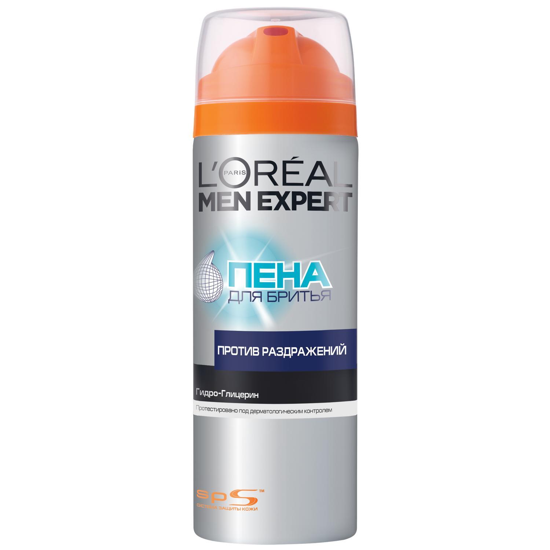 Пена для бритья Loreal men expert против раздражения 200мл. A5995900/6.
