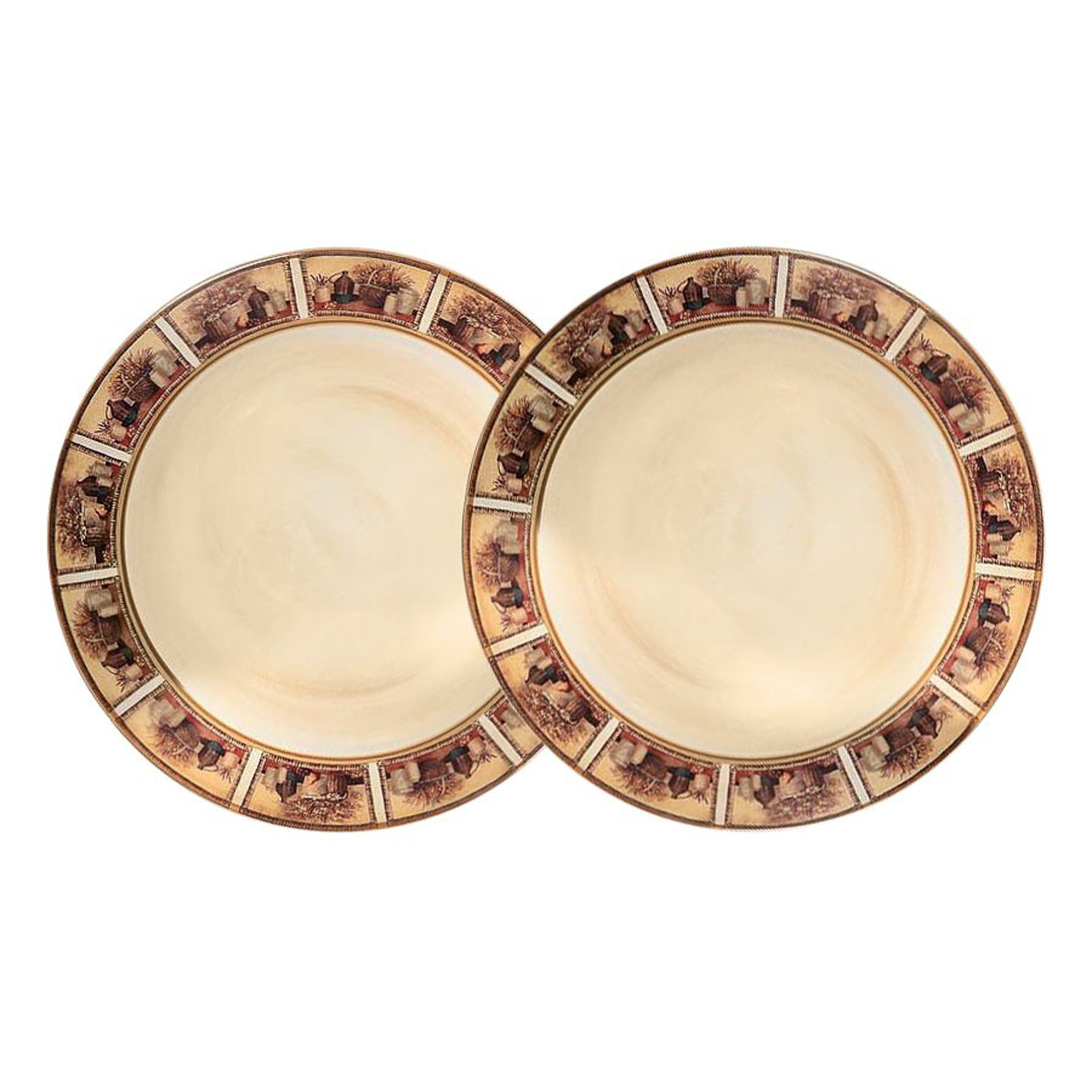 Набор тарелок десертных LCS Натюрморт 2 шт