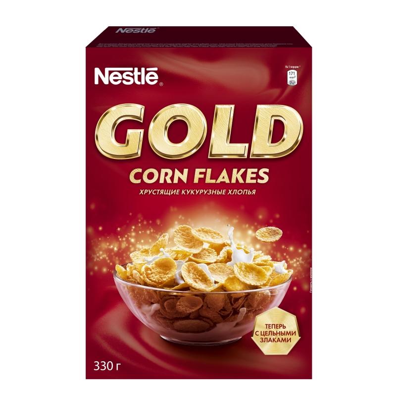 Хлопья кукурузные Nestle Gold 330 г фото